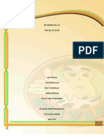 Business Plan Pecel Puyuh