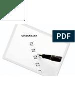 Check List - Eletricidade