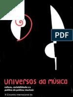 Etnomusicologia Universos Da Musica Praticas Musicais