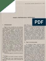 Piaget Epistemologia y Sociologia-Rodriguez