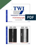 Weld Radiographs