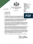 Letter to Corbett
