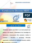 Presentación Certificación Septiembre 2012