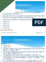 2. Tensor Algebra & Solution Jan 2013
