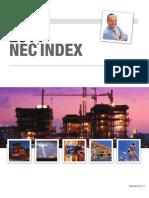NEC 2011 INDEX