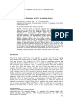 Assay of Superoxide Dismutase Activity in Animal Tissues