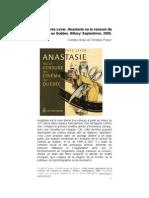 Poirier, C. (2010) «Yves Lever, Anastasie ou la censure du cinéma au Québec »
