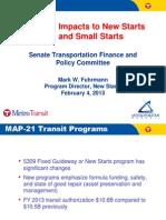 Metropolitan Council MAP-21 presentation (February 4, 2013)