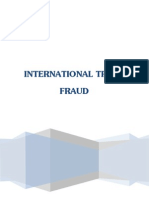 International Trade Fraud