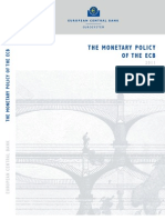 The monetary policy of the ECB
