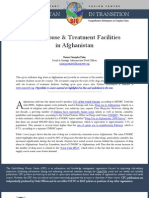 Drug Abuse & Treatment Facilities in Afghanistan