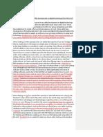 Digital Technology Essay (marked)