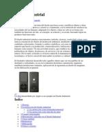 informe del diseño indrustrial