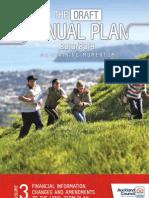 Volume Three of the Draft Annual Plan