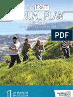 VolumeOne of the Draft Annual Plan