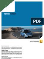 Renault Kangoo 2012 PL katalog