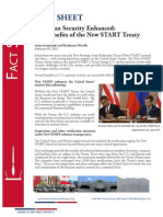 FACT SHEET  American Security Enhanced: The Benefits of the New START Treaty
