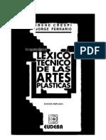 Lexico Tecnico de Las Artes Plasticas