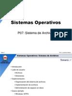 UNAB - SO07 - Sistema de Archivos.ppt