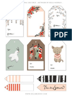 Christmas Gift Tags Kelli Murray PDF