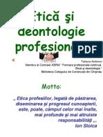 Etica Si Deontologie