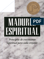 Oswald Sanders Madurez Espiritual