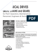 Mechanical Drives Practicals