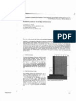 Reliability Analysis for Bridge Substructures