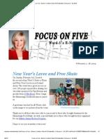 Focus on Five (Feb 4-18)