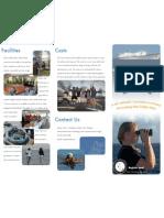 study at sea brochure