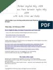 Barnes Method English Blog 2009