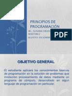 PRINCIPIOS DE PROGRAMACIÓN