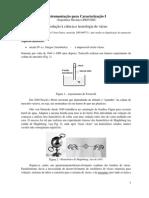 Apostila de Instrumentação para Caracterização I parte1 VÁ…