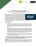 Convenio CD- f Sonrisa de Vida Conservacion & Desarrollo Smart Voyager, Miebros de la Red Latinoamericana de Turismo Cultural