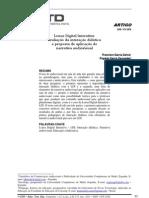 avaliação da interação didática e proposta de aplicação de narrativa audiovisual