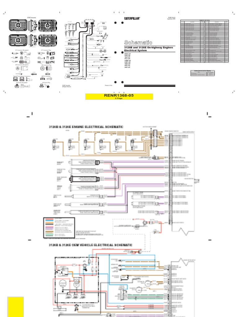 cat 3126 wiring diagram cat rx7 fuse panel diagram welder plug 2005 Expedition Fuel Injector Wire Harness  Injector Wire Harness LT1 V8 Fuel Injector Harness Connections Wire Harness 2003 Cadillac CTS