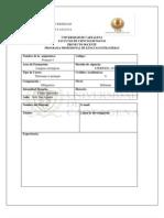 Plan de Estudio Frances 1 UdeC Bon Completo