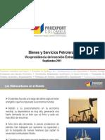 Bienes y Servicios Petroleros - Septiembre 2011