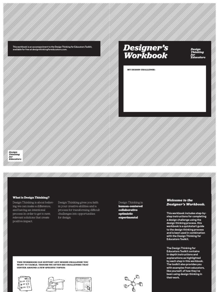 Designers workbook download_blank.pdf | Brainstorming | Design ...