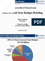Mid-Year Budget Briefing PA