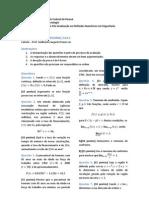 Prova Cálculo 2013 - Exame de Seleção PPGMNE/UFPR