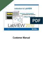 Customer Manual Labview