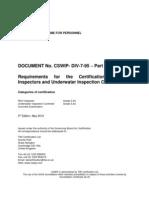 certification scheme for personnel