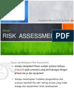 Dasar Risk Assessment (New Presentartion)