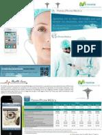 Diptico iPhone Medica