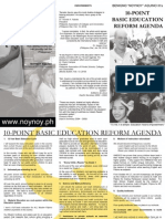Education Reform Agenda
