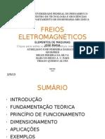 APRESENTAÇÃO DE FREIOS ELETROMAGNÉTICOS