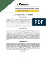 Acuerdo Competencia Procesos de Mayor Riesgo