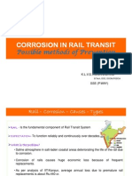 Corrosion on Indian Railways