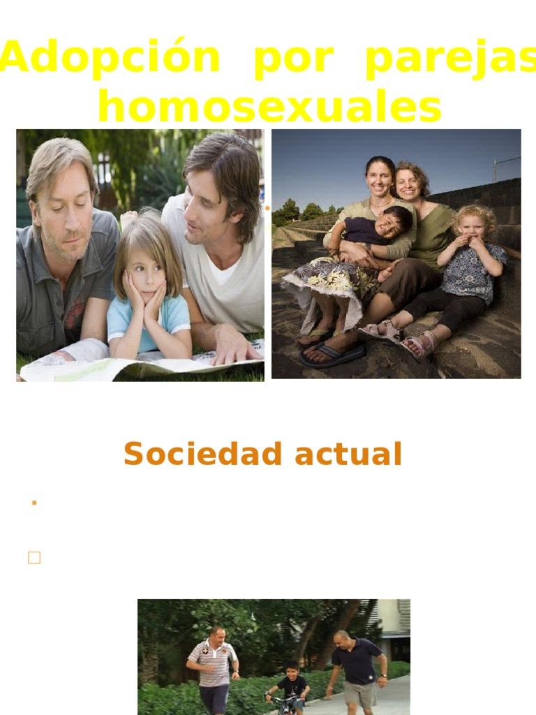 Adopcion homosexual relationship